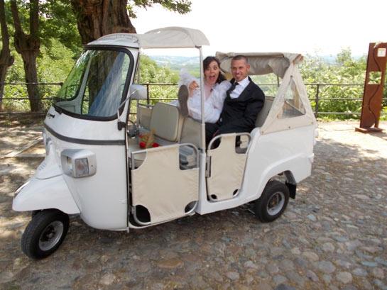 Auto per matrimonio, Ape Calessino