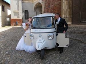 Matrimonio Ape Calessino